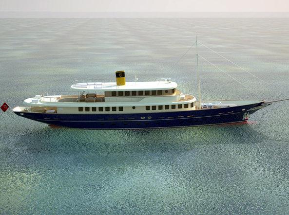 48.7m motor yacht Bilgin 160 Sister