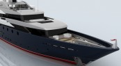 65m megayacht Panache by Eidsgaard Design for CMN Yachts