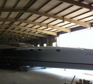 140ft luxury trimaran ADASTRA by McConaghy Boats undergoes sea trials