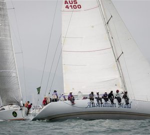 Rolex China Sea Race 2012: Line Honours Scheduled for Tonight