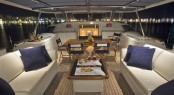 Aboard the Dubois designed superyacht Tenaz by Pendennis