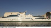 Another yacht launched by ADM - 141m Yas Superyacht - Credit Dick Holthuis Photography