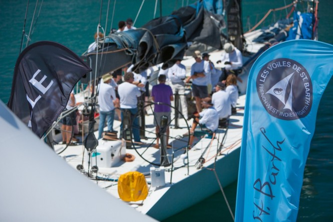 Atmosphere on the dockside at Les Voiles de Saint Barth © Christophe Jouany  Les Voiles de St. Barth
