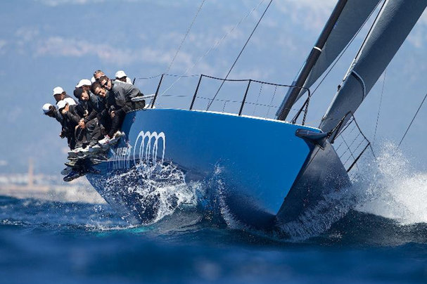 Audi Azzurra Sailing Team on their T52 yacht