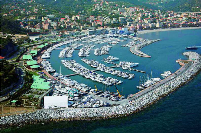Azimut Yachts at Marina di Varazze - Italy