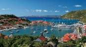 Beautiful Caribbean charter yacht location - St. Barths