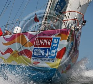 Clipper 11-12 Round the World Yacht Race: Day 5 - De Lage Landen remains in the lead