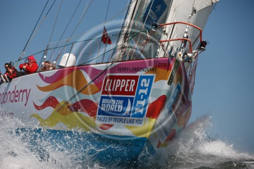 Clipper 11-12 Round the World Yacht Race Credit: Abner Kingman/onEdition