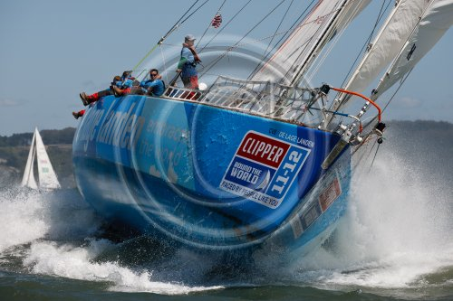 Clipper 11-12 Round the World Yacht Race fleet enjoy best racing conditions