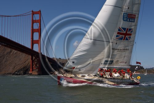 Clipper 11-12 Round the World Yacht Race fleet