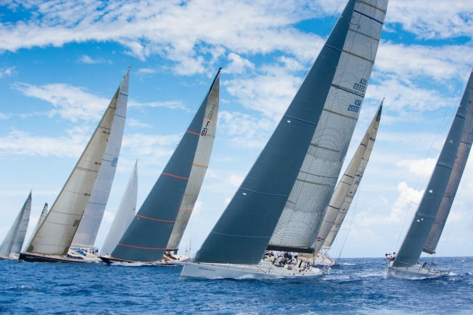 Day 3 racing at Les Voiles de St. Barth