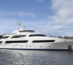 Delta´s newest 50m custom superyacht ARIANNA launched