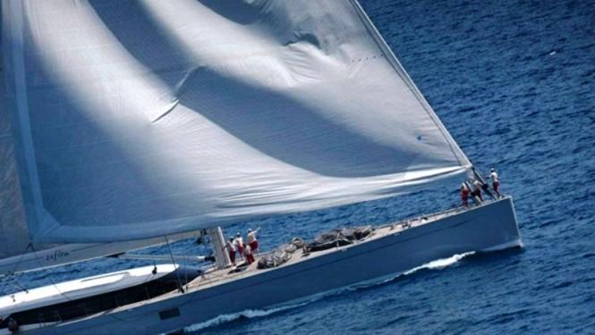Dubois designed sailing yacht ZEFIRA