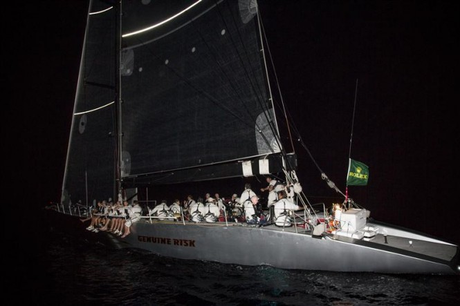 Geoff Hill's GENUINE RISK arrival in Subic Bay Photo by RolexDaniel Forster
