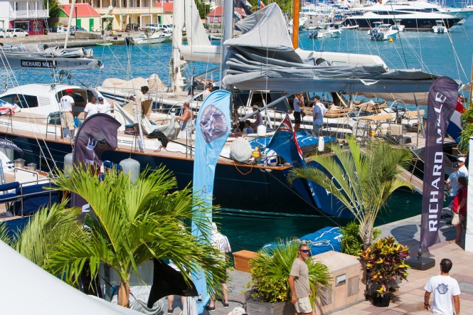 Gustavia Harbour on the lay day Credit Christophe JouanyLes Voiles de St. Barth