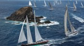 Hoek Design Superyachts racing at the St Barths Bucket 2012