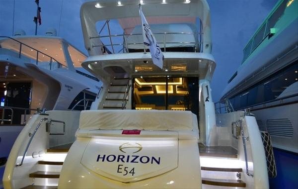Horizon E54 Yacht exhibited at the Hainan Rendezvous