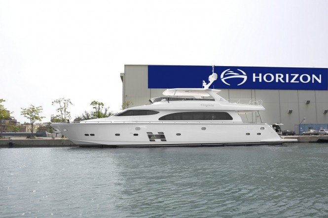 Horizon E84 motor yacht VIRGINIA