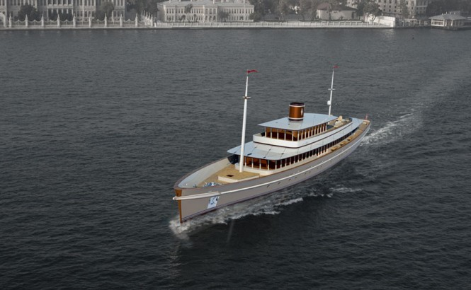 Istanbul design by Baris Yurek - a tour Boat that could be redesigned to become a luxury superyacht