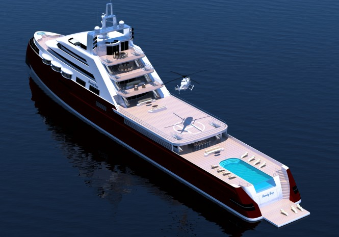 Joachim Kinder designed superyacht Icon 110M