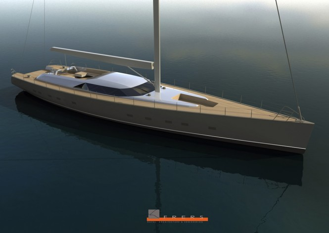 Jongert 3400M Superyacht by German Frers