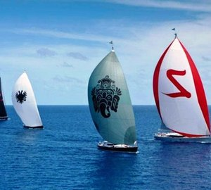 Dubois Designed superyachts excel at the 2012 Caribbean Regattas