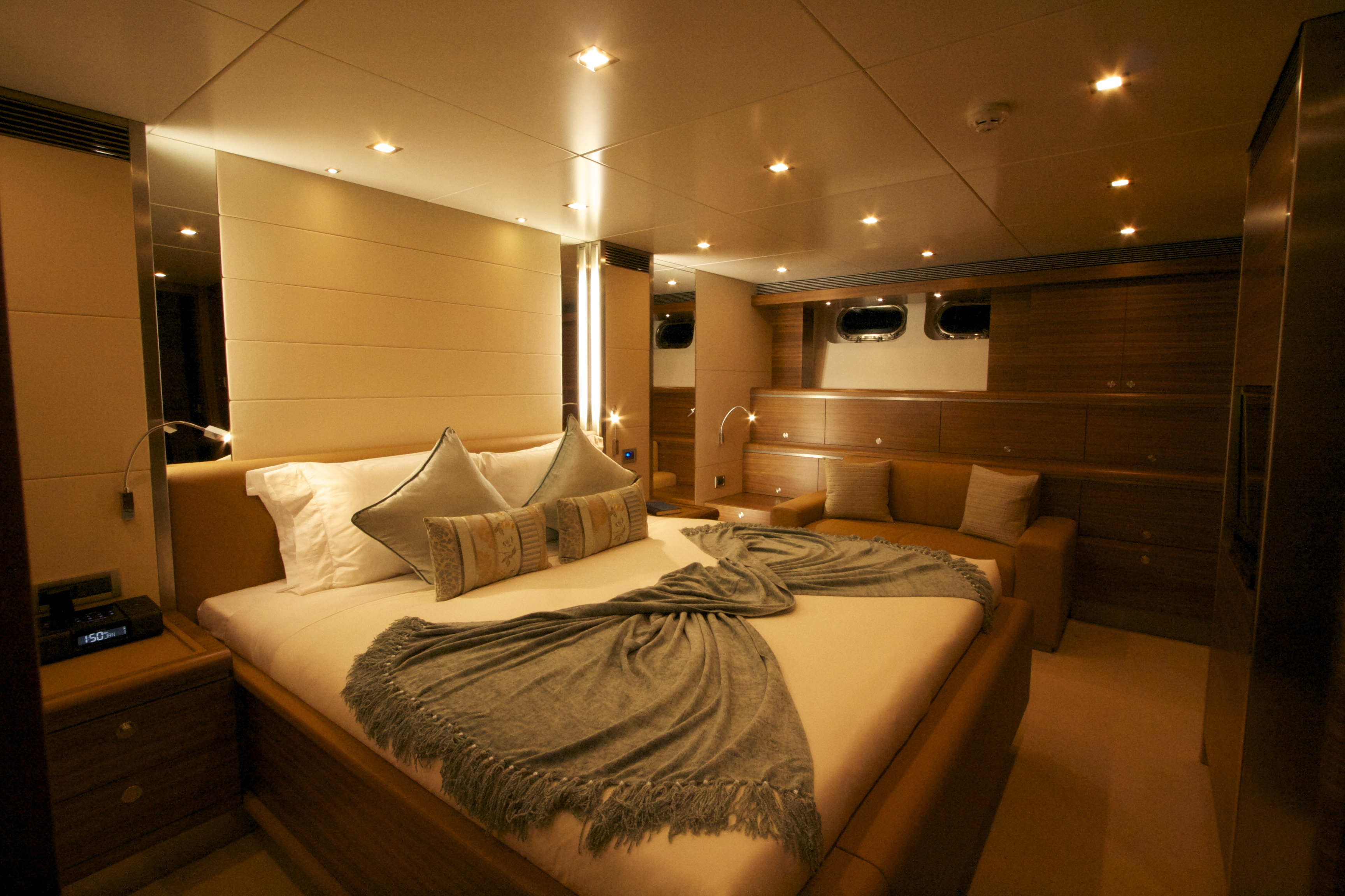 Luxurious Interior Aboard The Motor Yacht No Comment