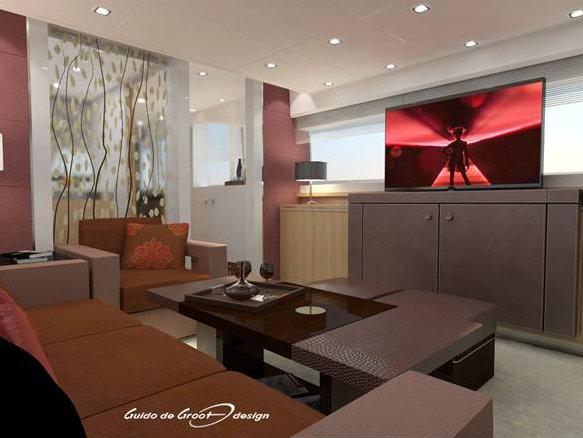 Luxurious interior by Guido de Groot Design