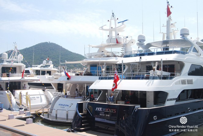 Luxurious superyachts on display at Hainan Rendez-Vous 2012