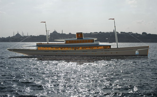 Luxury VIP Tour Boat ISTANBUL by Baris Yurek  that could become a luxury yacht