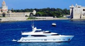 Luxury charter yacht Annabel II