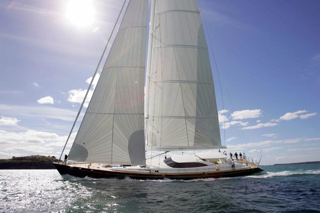 Luxury charter yacht Ganesha by Fitzroy Yachts