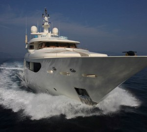 Charter special for the 43m CRN luxury motor yacht HANA in the Western Mediterranean