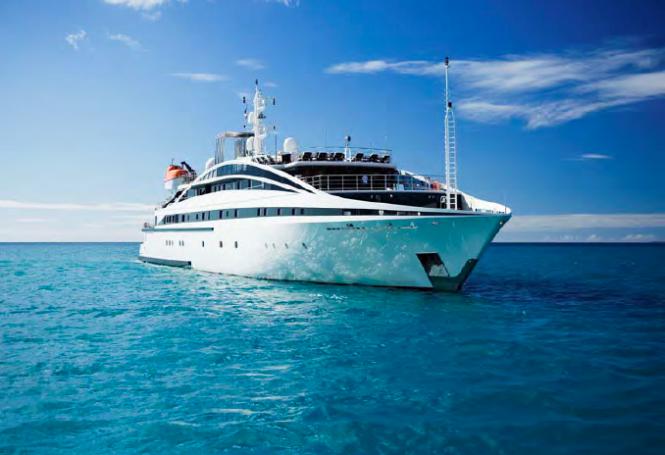Luxury mega yacht RM ELEGANT