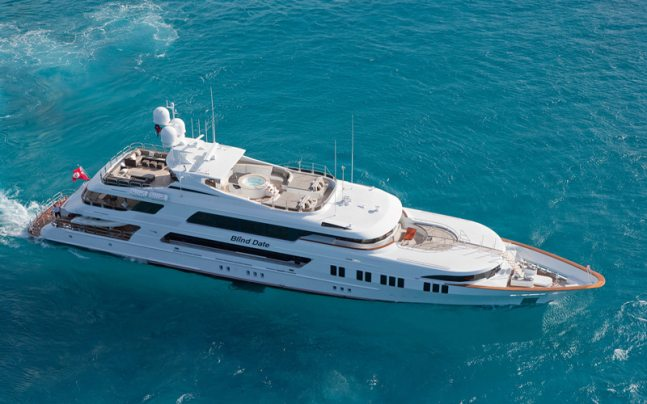 Luxury motor yacht Blind Date 161