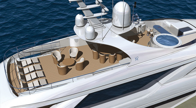 Luxury motor yacht LIBERTY by ISA Yachts