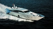 Luxury motor yacht PERSHING 92