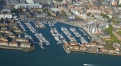 MDL&Acirc;&acute;s Ocean Village Marina - view from above