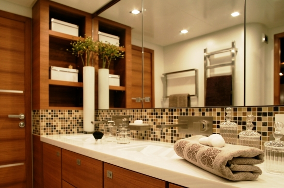 Mayama superyacht -  Bathroom