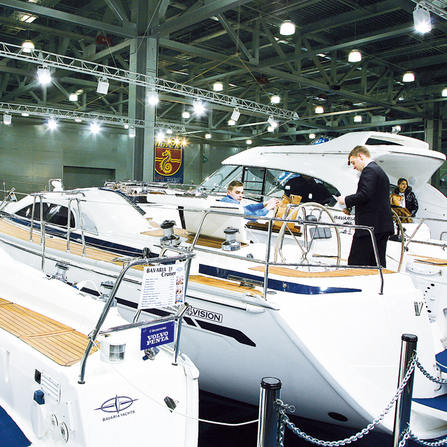 More than 400 yachts on display at the Show