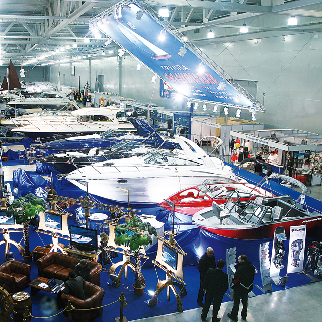 Moscow Boat Show a Great Success