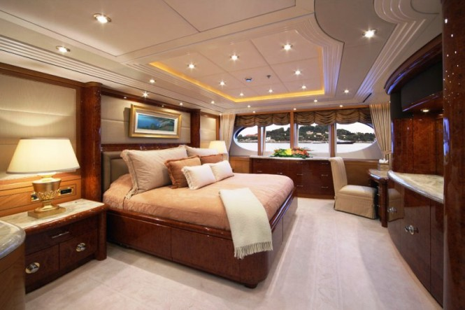 Motor Yacht CAPRI Accommodation