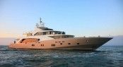 Motor yacht LA PELLEGRINA launched � the 1st 5000 FLY COUACH superyacht