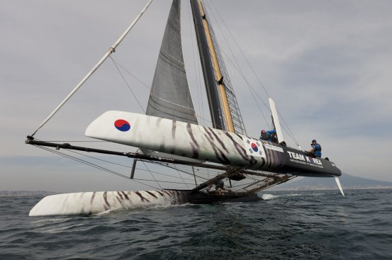 Naples America´s Cup World Series training starts over the Easter Weekend