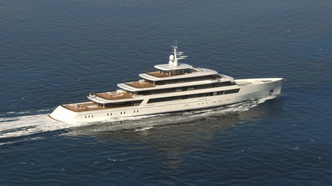 Nauta luxury yacht PROJECT LIGHT