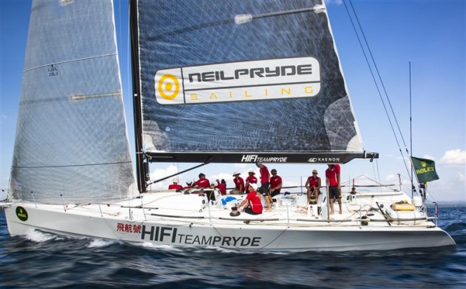 Neil Pryde's HI FI arrival in Subic Bay Photo by RolexDaniel Forster