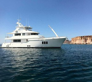 Nordhavn 86 motor yacht Zembra (ex hull N8608) successfully delivered