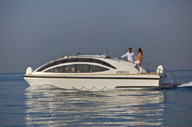 O'Mega superyacht - Tender