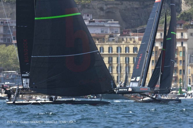 ORACLE Racing Bundock advanced to the semifinal round by defeating stable mate ORACLE Racing Spithill