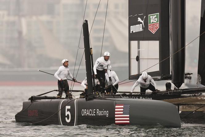 ORACLE Racing team